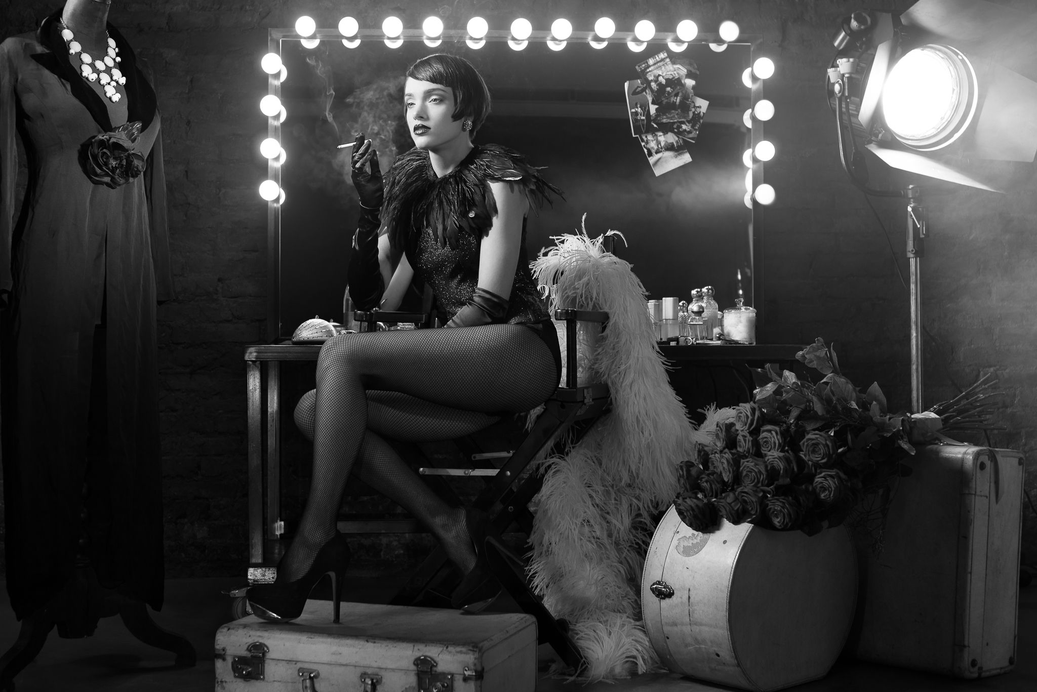 Editorial - Diva en Noir - Pic. 4