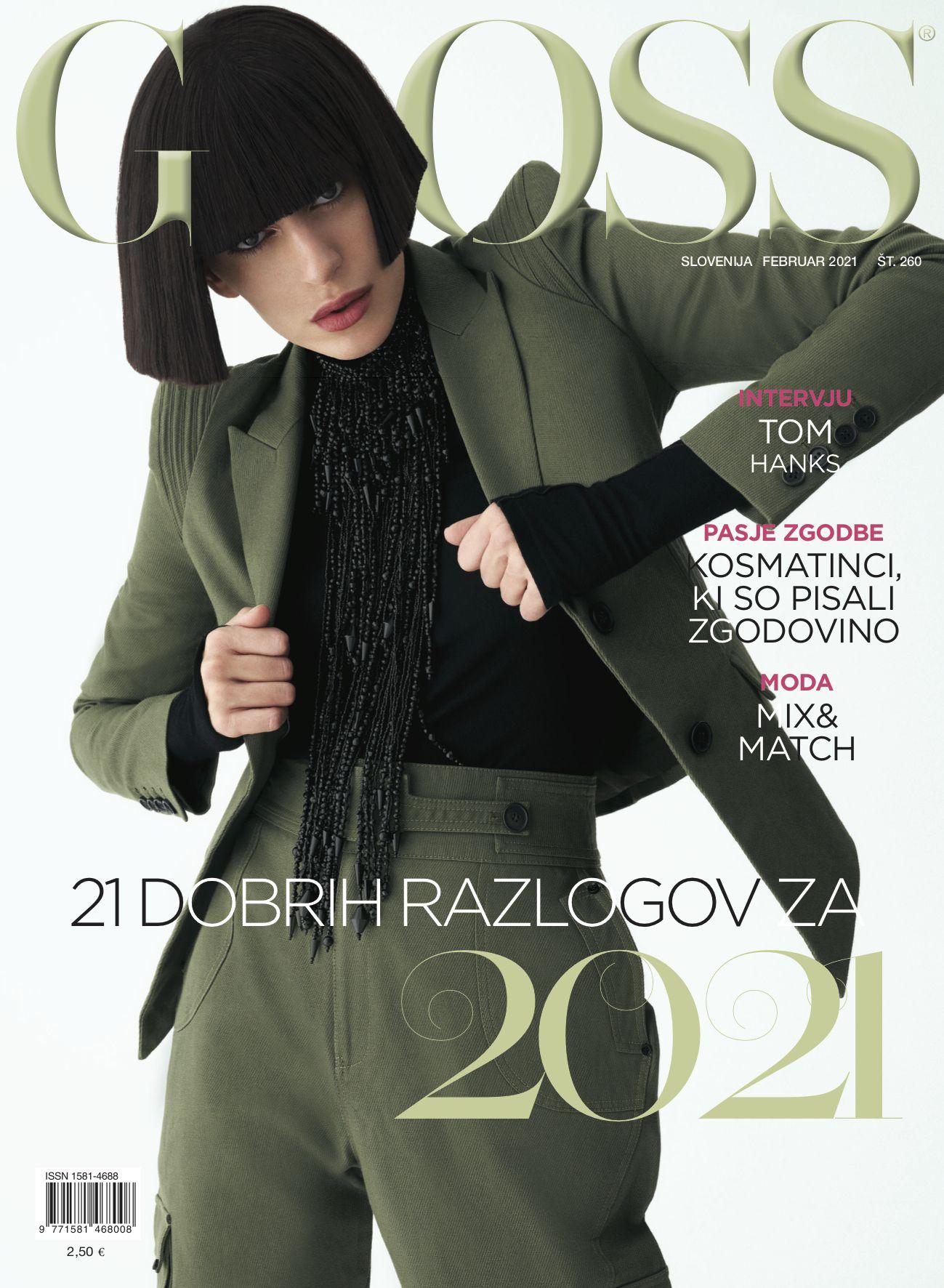 Gloss Magazine Cover - Pic. 1