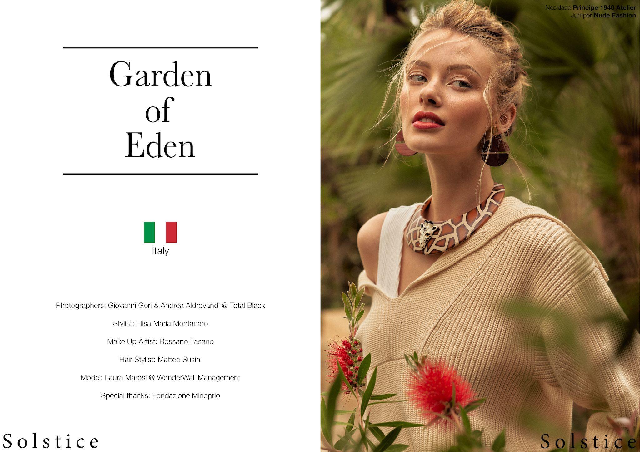 Garden of Eden - Solstice Magazine UK - Pic. 1